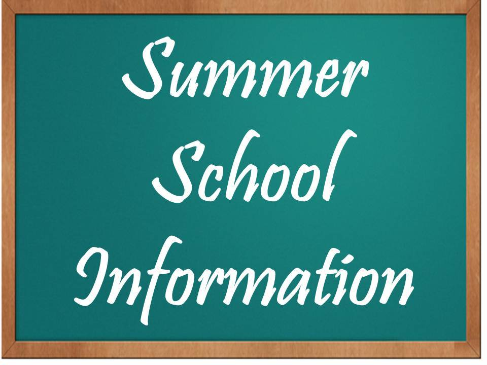 2017 Summer School Information