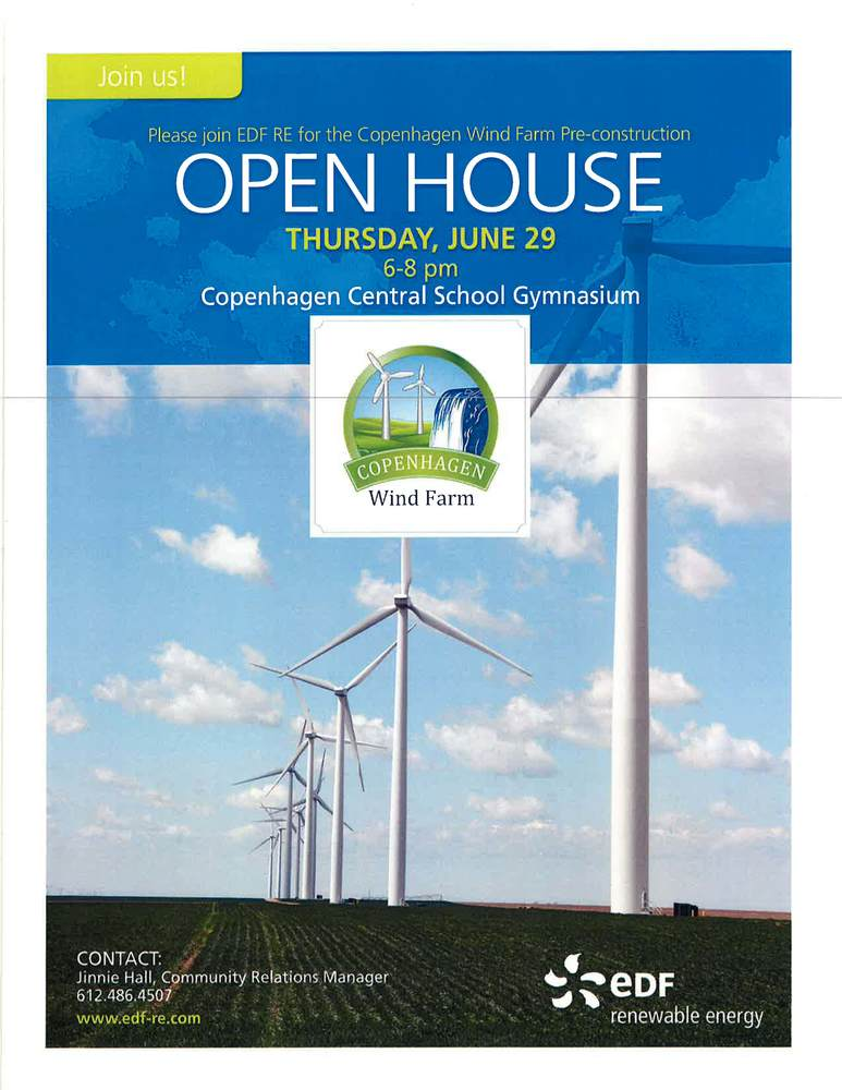 COPENHAGEN WIND FARM OPEN HOUSE!