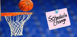 BASKETBALL SEMI-FINALS RESCHEDULED GAMES