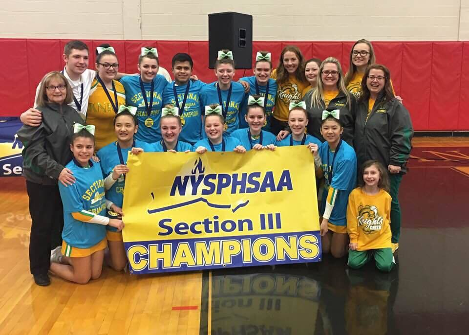 Congratulations to Section III Champions!!!