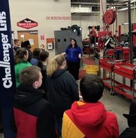 8th Graders Visit Vocational Education