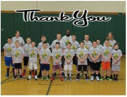 Youth Boys Basketball Thank You