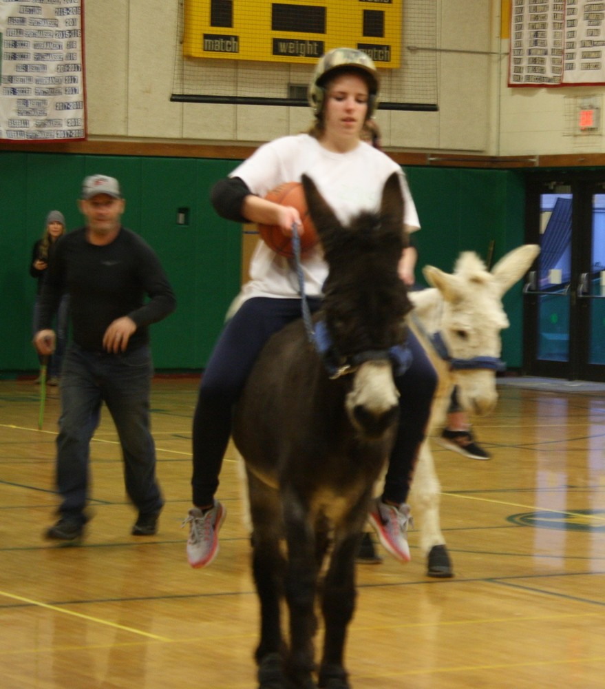 Donkey Basketball Game!!, March 12th!!