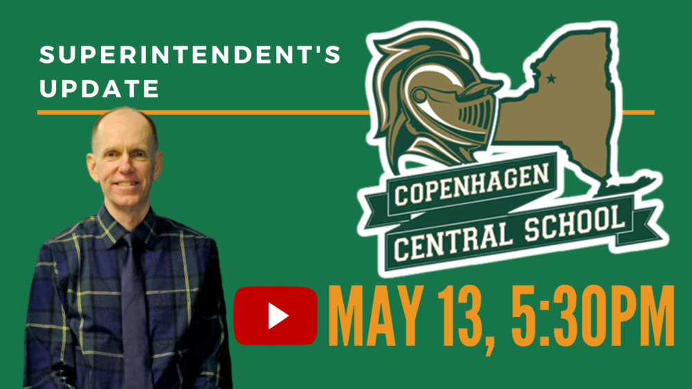 Superintendent's Update May 13