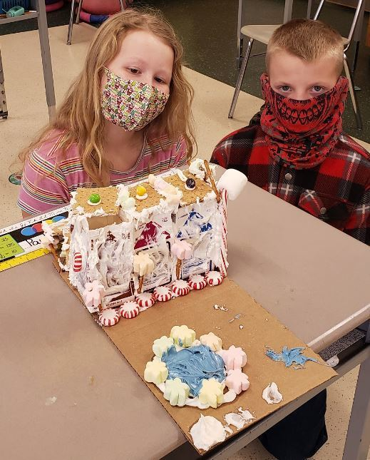 5th Grade Gingerbread Houses