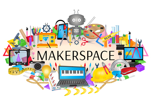 Library Makerspace Explore & Vote Event