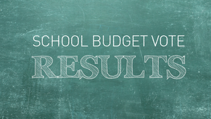 SCHOOL BUDGET/ELECTION VOTE RESULTS
