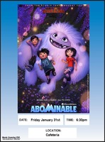 Upcoming Family Movie Night