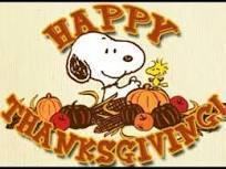Charlie Brown Thanksgiving is BACK!!