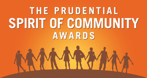 Prudential Spirit of Community Award Winner