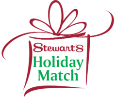 Stewart's Holiday Match Grant Award!