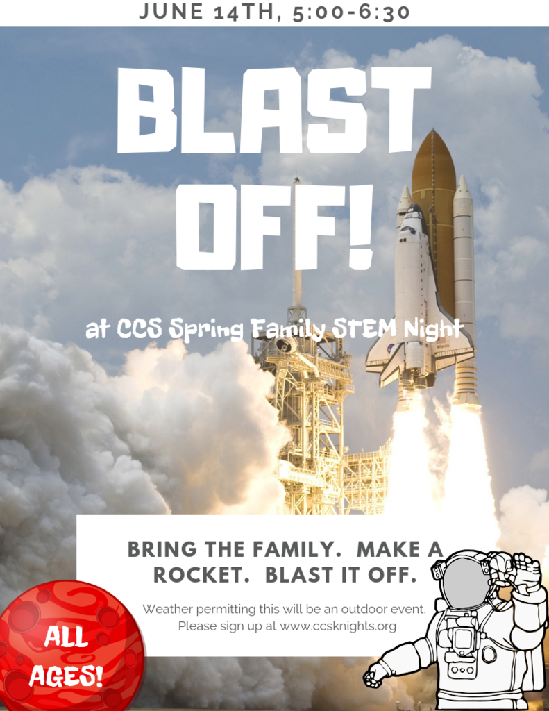 Blast off at Copenhagen's Spring Family STEM Night.