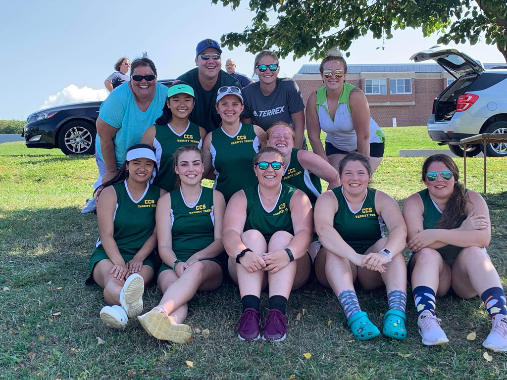 CCS Tennis Team Frontier League Champions 2019