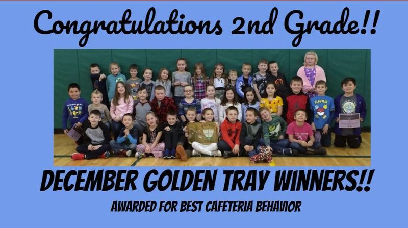 December Positive Behavior Winners!